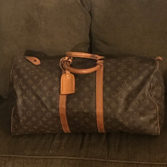 0318f432 Louis Vuitton keepall 55 vintage pre80s preowned